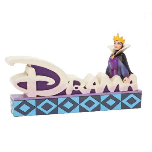 Disney Villains Snow White Evil Queen DRAMA Statue - Undead Inc Disney Statues,