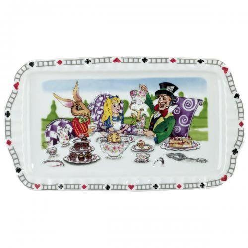 Alice In Wonderland Classic Storybook Cookie Plate