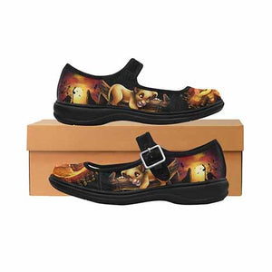 Lion King Sunset Simba Women's Mary Jane Shoes