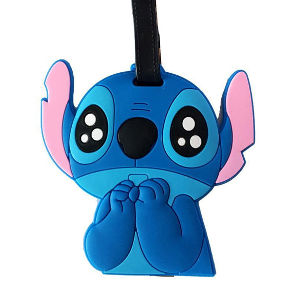 Stitch Big Eyes Bag Tag