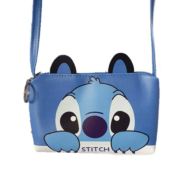 Stitch Small Purse Mobile Phone Passport Bag Cross Body/ Shoulder