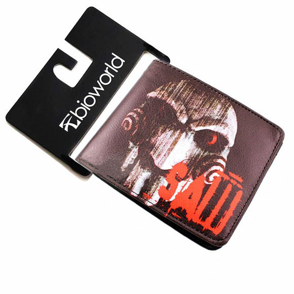 SAW Jigsaw Horror Movie Wallet