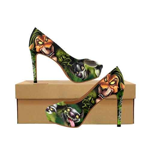 Villains Scar Lion King Platform High Heels