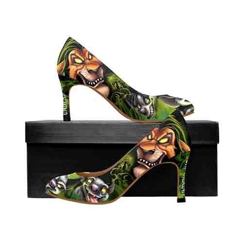 Villains Scar Lion King MEDIUM High Heels