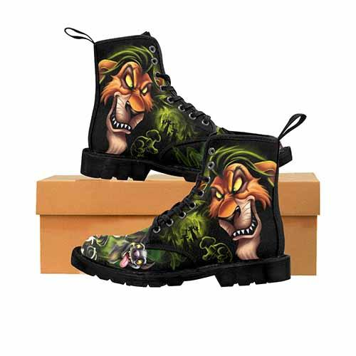 Villains Scar Lion King MENS Boots