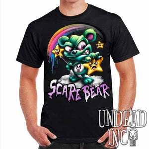 Undead Inc Scare Bear Hunting Stars - Mens T Shirt
