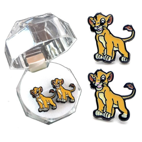 Lion King Simba Earrings