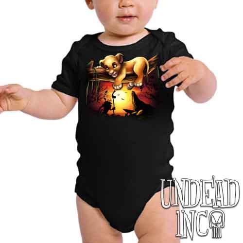 Lion King Simba Sunset Pride Rock - Infant Onesie Romper