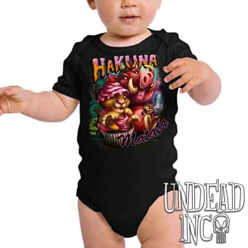 Lion King Cupcake Simba Timon & Pumba - Infant Onesie Romper