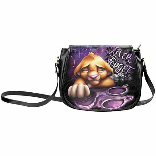 The Lion King Simba Never Forget Undead Inc Shoulder / Cross Body Bag