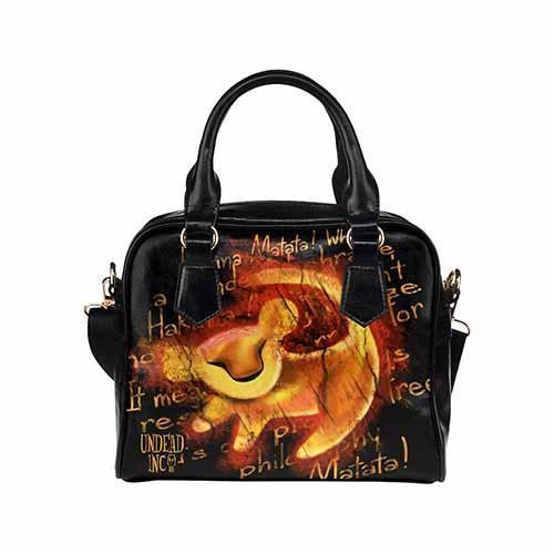 The Lion King Simba Painting Undead Inc Shoulder / Hand Bag