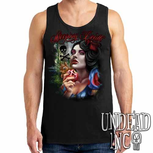"Snow White Poison Apple ""Sleeping Death"" - Mens Tank Singlet"