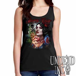"Snow White Poison Apple ""Sleeping Death"" - Ladies Singlet Tank"