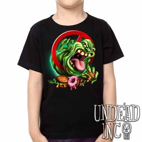 Slimer -  Kids Unisex Girls and Boys T shirt Clothing