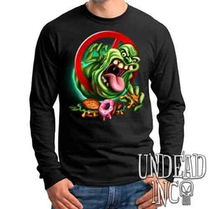 Slimer - Mens Long Sleeve Tee
