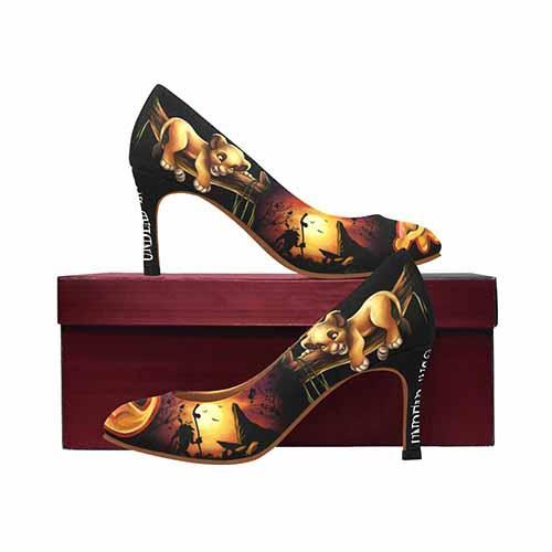 The Lion King Simba Medium High Heels