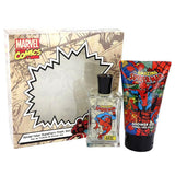 Spider Man Cologne & Shower Gel Set By Marvel Fragrance