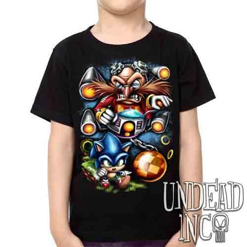 Sonic Boss Level - Kids Unisex Boys & Girls T Shirt