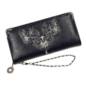 Gothic Victorian Deer Long Line Wallet Purse