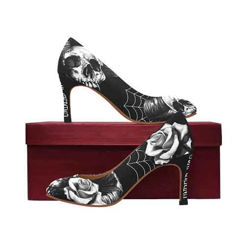 Gothic Rose MEDIUM Women's High Heels - Undead Inc High Heels,