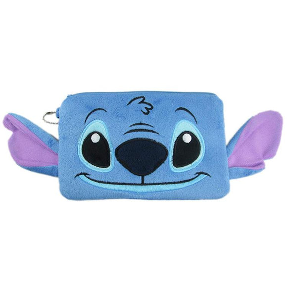 Disney Stitch Plush Makeup Cosmetics Bag - Undead Inc Cosmetics Bag,
