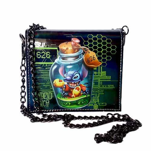 Stitch 626 Undead Inc Shoulder Bag With Removable Chain