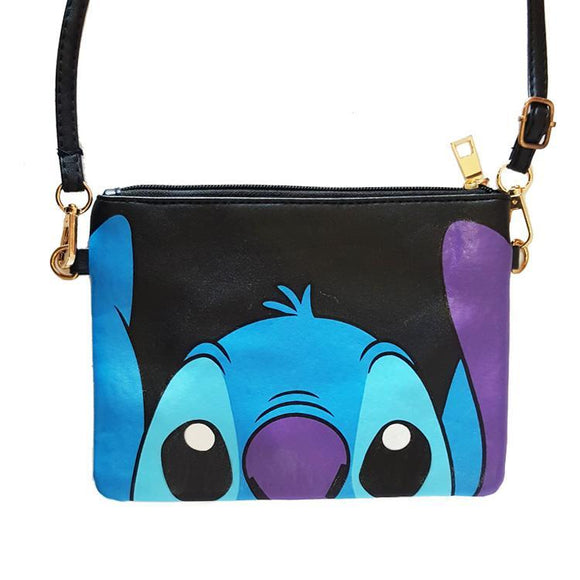 Stitch Black Cross Body / Shoulder Bag