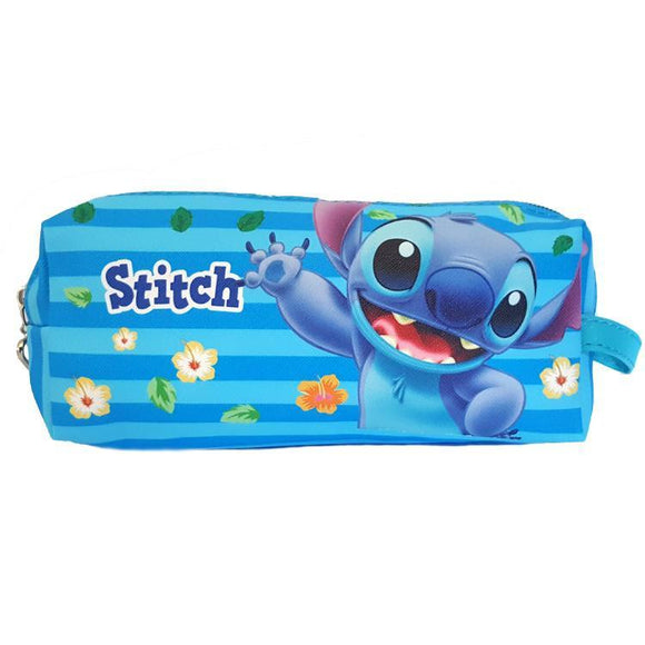Stitch Pu Leather Makeup Cosmetics Bag