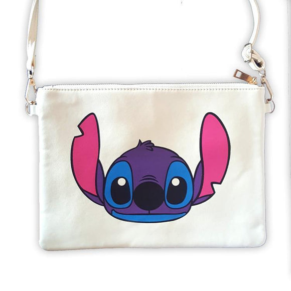 Stitch Colourful Face Cross Body / Shoulder Bag