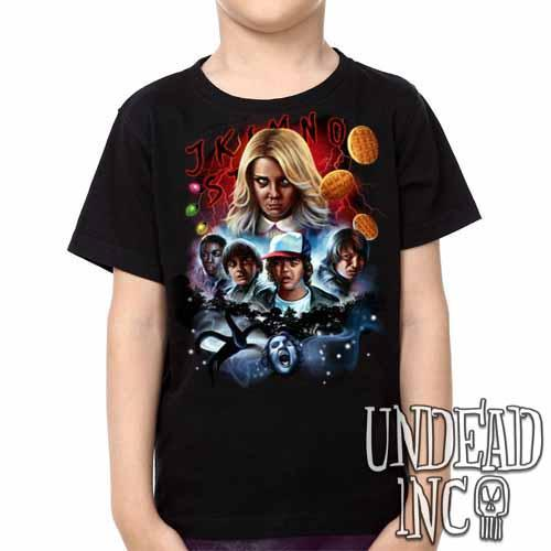 Stranger Things -  Kids Unisex Girls and Boys T shirt Clothing