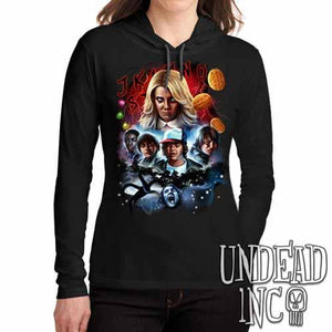 Stranger Things - Ladies Long Sleeve Hooded Shirt