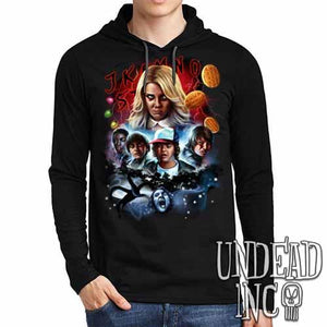 Stranger Things - Mens Long Sleeve Hooded Shirt