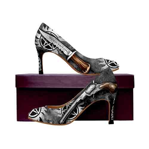Winchester Bros. Hunting Things MEDIUM High Heels