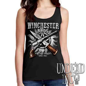 Winchester Bros. Hunting Things - Ladies Singlet Tank