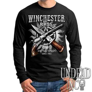 Winchester Bros. Hunting Things - Mens Long Sleeve Tee