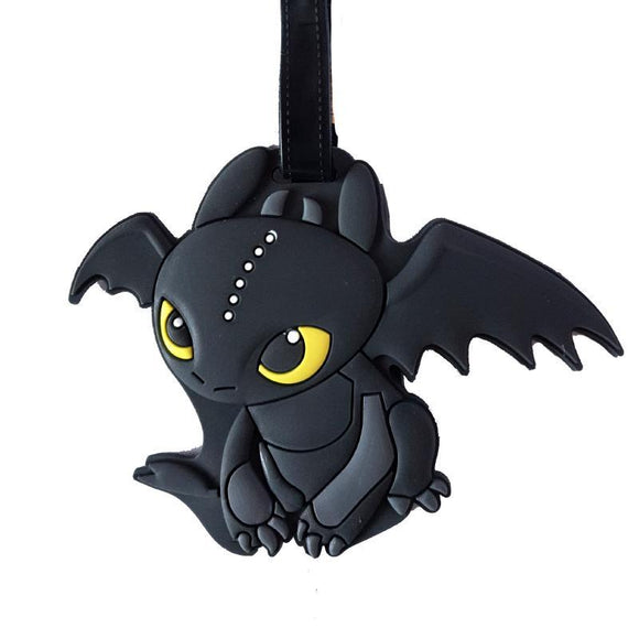 Toothless How To Train Your Dragon Bag Tag