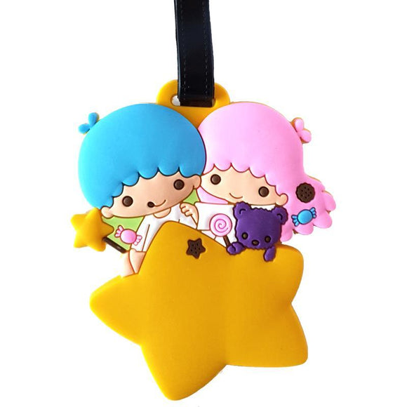Sanrio Gemini Little Twin Stars Bag Tag