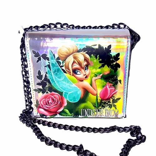 Tinkerbell Enchanted Forest Undead Inc Hologram Shoulder Bag With Removable Chain