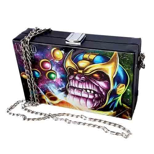Thanos Galactic Undead Inc Shoulder Bag / Clutch Shoulder Handbags Undead Inc
