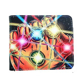 Avengers Infinity War Thanos Gauntlet PU Leather Bifold Wallet - Undead Inc Wallet,