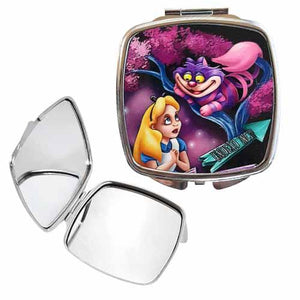 Alice In Wonderland Undead Inc Compact Mirror - Undead Inc compact mirror,