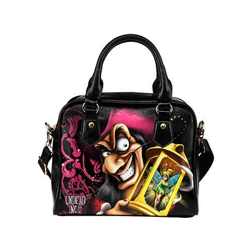Undead Inc Peter Pan Villains Hook & Tinkerbell Shoulder / Hand Bag
