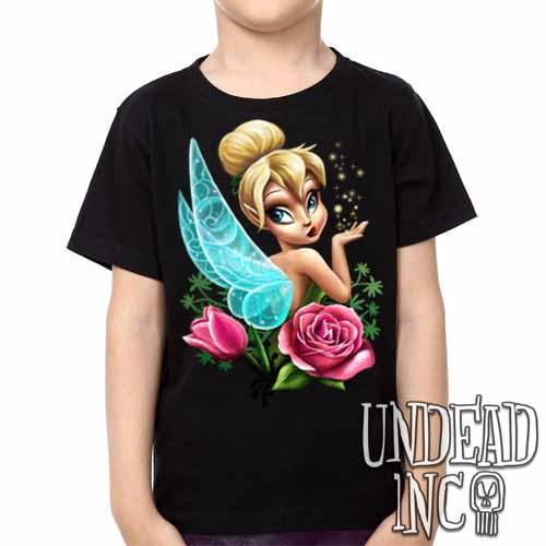 Tinkerbell - Kids Unisex Girls and Boys T shirt Clothing Kids T-shirts Undead Inc