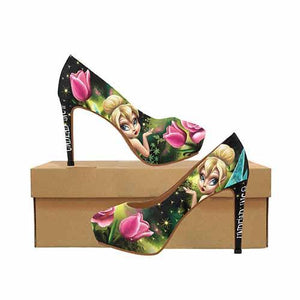 Tinkerbell Enchanted Platform High Heels