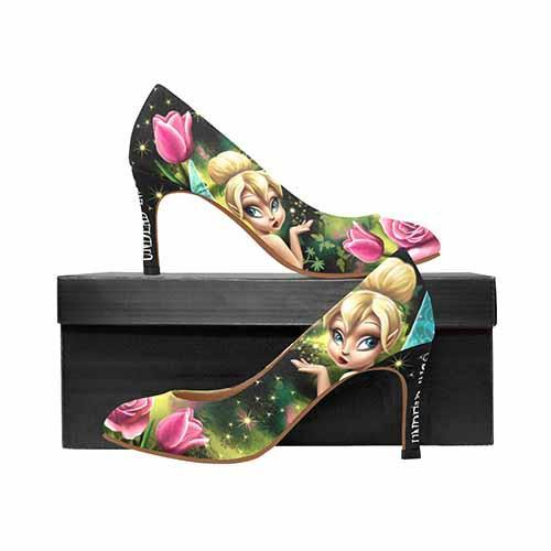 Tinkerbell Enchanted MEDIUM High Heels