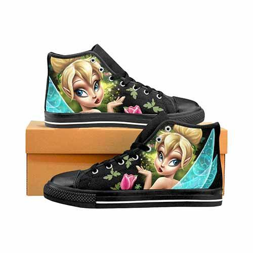 Tinkerbell Enchanted Women's Classic High Top Canvas Shoes
