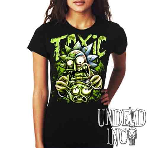 Rick Turning Toxic - Ladies T Shirt