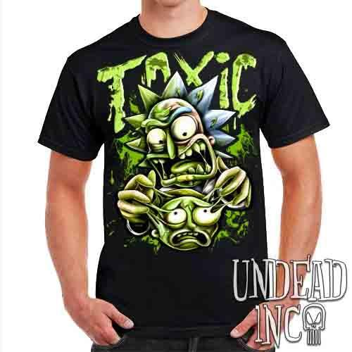 Rick Turning Toxic - Mens T Shirt