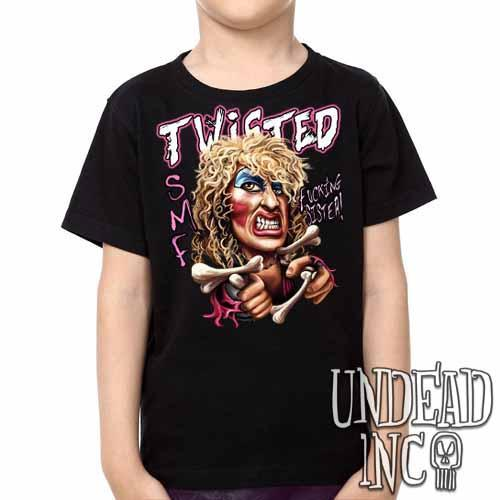 Twisted Sister Dee Snider -  Kids Unisex Girls and Boys T shirt Clothing