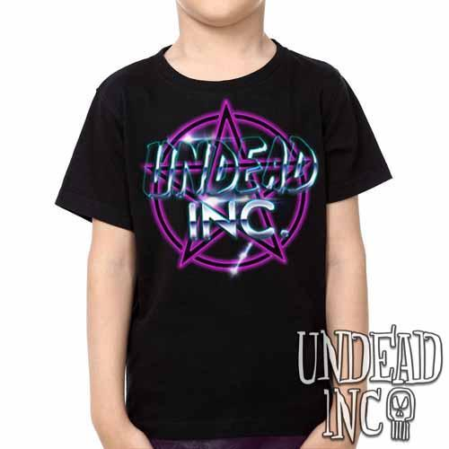 Undead Inc Pentagram -  Kids Unisex Girls and Boys T shirt Clothing